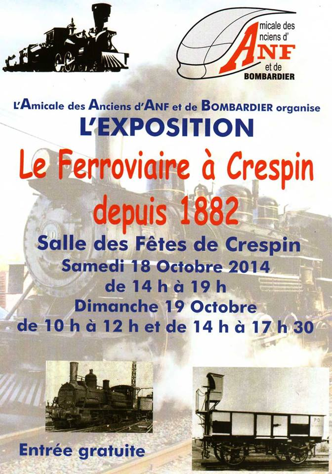 Affiche expo Crespin.